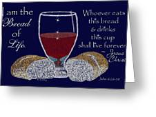 The Bread Of Life Greeting Card by Robyn Stacey