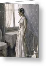 The Bride Greeting Card by Anders Leonard Zorn