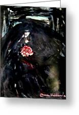 The Bride In Black Greeting Card