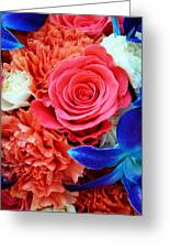 The Brides Flowers Greeting Card
