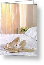 The Brides Sandals Greeting Card