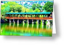 The Bridge 16 Greeting Card