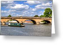 The Bridge At Henley-on-thames Greeting Card