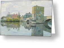 The Bridge At Saint Ives Greeting Card