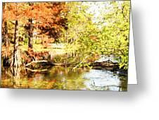 The Bridge Greeting Card