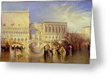The Bridge Of Sighs Greeting Card