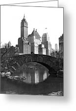 The Bridge Over Duck Pond  Greeting Card