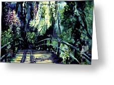 The Bridge Greeting Card by Shari Silvey