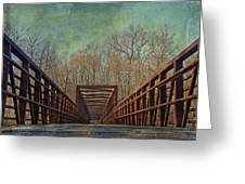 The Bridge To The Other Side Of Where? Greeting Card