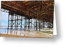 The Brighton Pier  Greeting Card