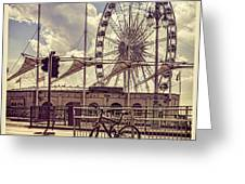 The Brighton Wheel Greeting Card