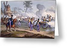 The British Royal Horse Artillery - Greeting Card by English School