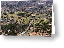 The Broadmoor Panoramic Greeting Card