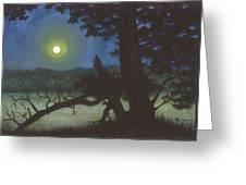The Broken Tree Greeting Card