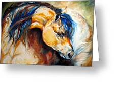 The Buckskin Greeting Card