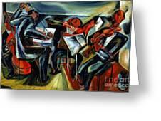 The Budapest String Quartet Greeting Card