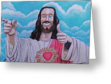 The Buddy Christ Greeting Card