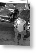 The Buggy Frog Greeting Card