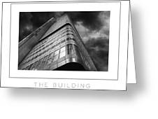 The Building Poster Greeting Card
