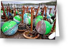The Buoys Of Summer Greeting Card