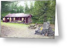 The Cabin In The Woods Greeting Card