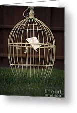 The Cage Greeting Card