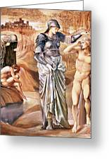 The Call Of Perseus, C.1876 Greeting Card