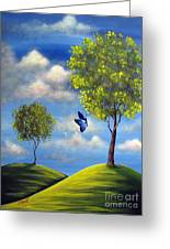 The Call Of Spring By Shawna Erback Greeting Card