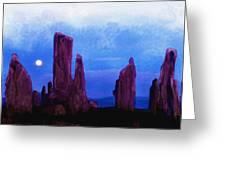 The Callanish Stones Scotland Greeting Card