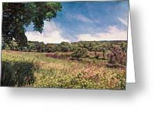 The Calling Of Summer Fields Greeting Card