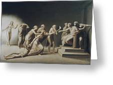 The Calumny Of Apelles Greeting Card