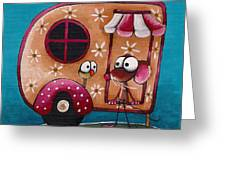 The Camper Van Greeting Card