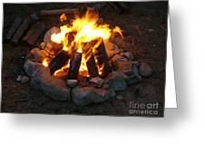 The Campfire Greeting Card by Boon Mee