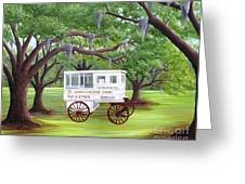 The Candy Cart Greeting Card