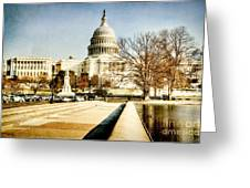 The Capitol Building Greeting Card