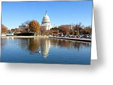 The Capitol In Fall Greeting Card