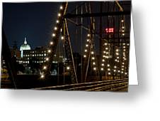 The Capitol Of Harrisburg Greeting Card
