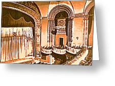 The Capitol Theater In Port Chester Ny Greeting Card