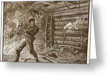 The Capture Of Booth, The Slayer Greeting Card