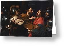 The Capture Of Christ Greeting Card