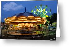 The Carnival Is In Town Greeting Card