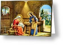 The Carpenter Greeting Card