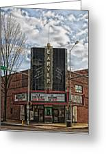 The Carver Theatre In Birmingham Alabama Greeting Card