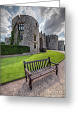 The Castle Bench Greeting Card