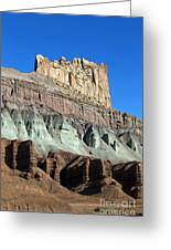 The Castle Capitol Reef National Park Utah Greeting Card