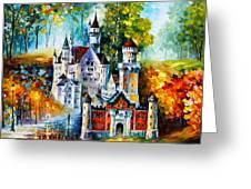 The Castle Of 4 Seasons Greeting Card