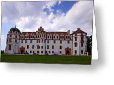 The Castle Of Celle Greeting Card