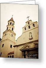 The Cathedral Basilica Greeting Card