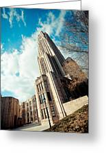 The Cathedral Of Learning 3 Greeting Card
