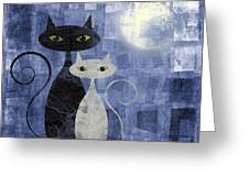 The Cats Greeting Card